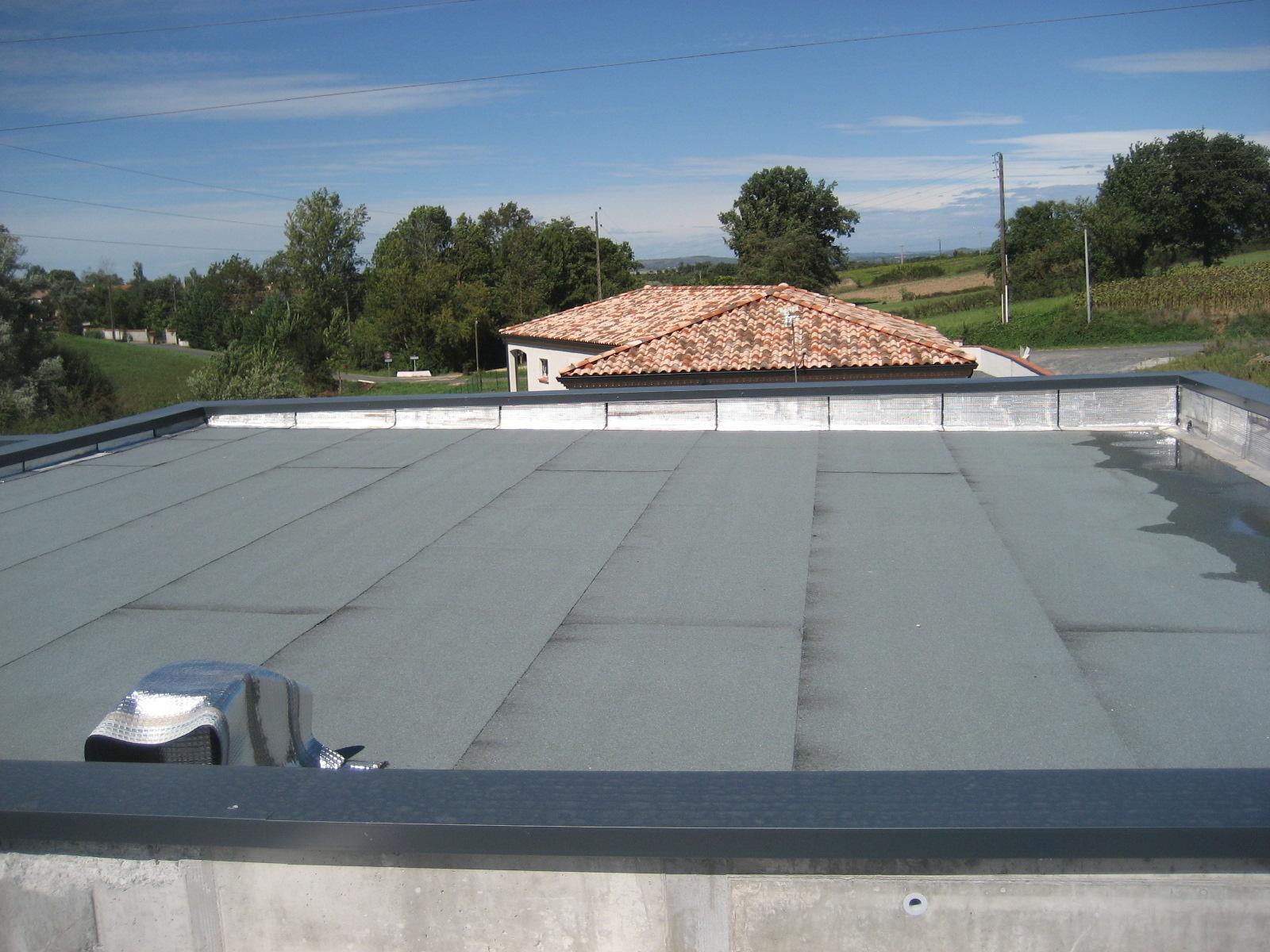 Etanchéité de toiture Albi, Montauban Toulouse
